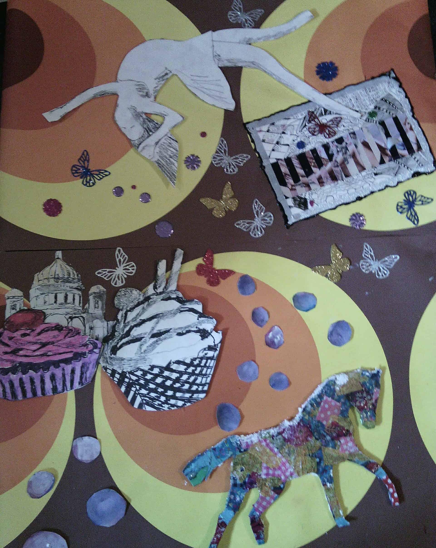 Work in Progress: Collage für Nachtansichten 2015
